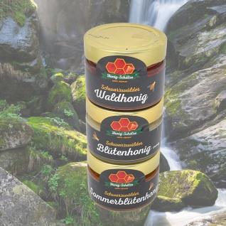 Honig Wernet Traditionsimker im Schwarzwald Spezialitätenturm 3x150g Glas - Vorschau 2