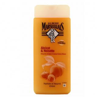 Le Petit Marseillais Duschgel und Badezusatz mit Aprikosen und Haselnuss 650ml