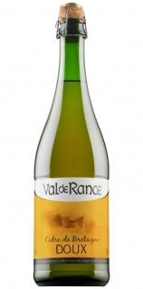 Val de Rance Cidre de Bretagne Doux Apfelwein aus Frankreich 0, 75 Liter