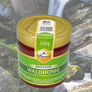 Honig Wernet Traditionsimker im Schwarzwald Deutscher Waldhonig im 250g Glas - Vorschau 2