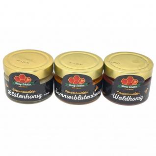 Honig Wernet Traditionsimker im Schwarzwald Spezialitätenturm 3x150g Glas - Vorschau 3
