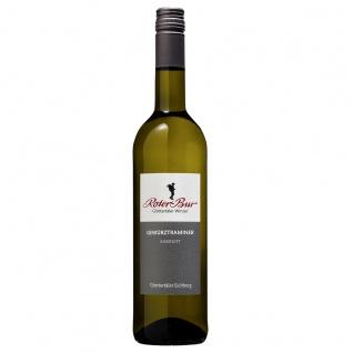 Roter Bur Glottertäler Winzer Einzellage Eichberg Gewürztraminer Weißwein 0, 75 Liter Der Aromenkünstler