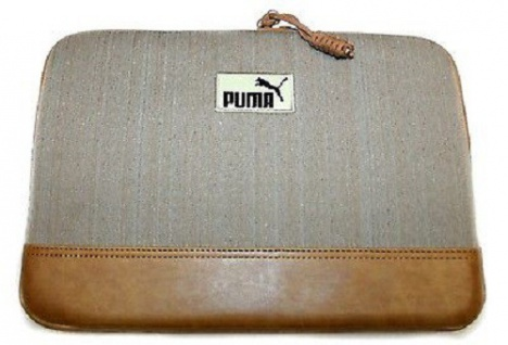 "Puma Engineer 11"" Laptop Sleeve Grau/Braun"