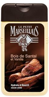 Le Petit Marseillais Duschcreme Sandelholz & Vanille 250 ml Original aus Frankreich
