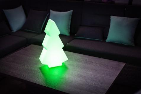Luminatos 401 LED Leucht Weihnachtsbaum 49cm 16 Farben mit Fernbedienung wasserdicht