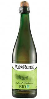 Val de Rance Cidre de Bretagne Biologique Apfelwein aus Frankreich 0, 75 Liter