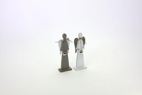 Engel aus Holz 2er Set Weihnachtsengel