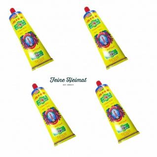 Harissa La Flamme CAP BON SEHR SCHARF CHILLI Paste Sauce 4 x 140 Gramm Tube
