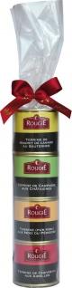 Rougié 4 verschiedene Gourmet Terrinen als Geschenk-Set
