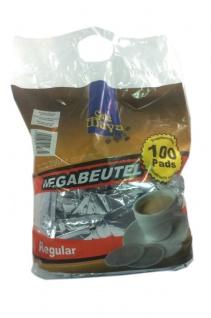 100 Kaffeepads im Megapack Eurocafe Café Maya Regular einzeln aromaversiegelt