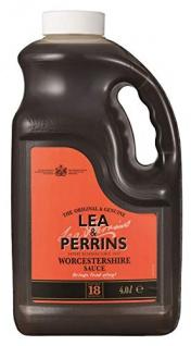 Lea & Perrins Worcestershire Sauce 4 Liter Großverbraucher Kanister