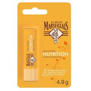 Le Petit Marseillais Lippenpflege mit Shea, Mandel und Argan 4, 9 g aus Frankreich - Vorschau