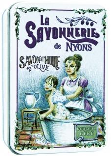 La Savonnerie De Nyons Seife in der Metalldose Le Bain Verbena