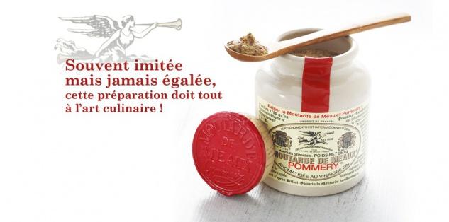 Meaux-Senf Pommery ® Mutarde de MEAUX französischer Senf 500 Gramm - Vorschau 3