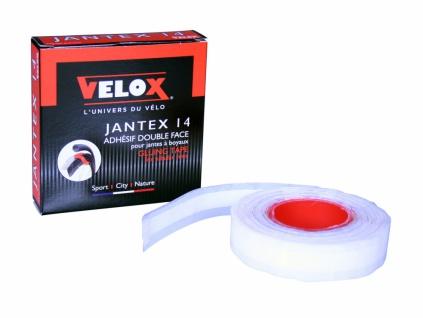 Velox Schlauchreifenklebeband Jantex 14, Breite 18 mm f. 2 Räder, Rolle mit 4, 15 m