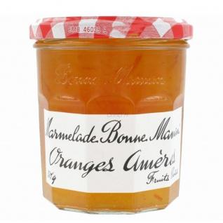 Bonne Maman Oranges Amères Marmelade aus Frankreich Bitter Orange 370 Gramm