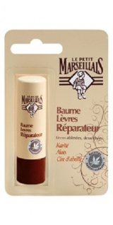 Le Petit Marseillais Lippenpflege Stick mit Shea, Aloe Vera und Bienenwachs 4, 9 g aus Frankreich