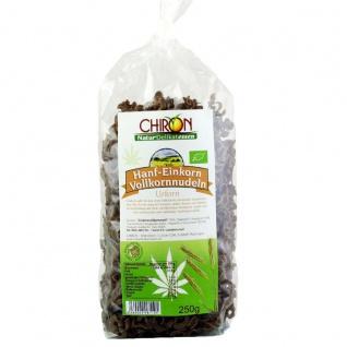 CHIRON Naturdelikatessen Bio Hanf-Einkorn Vollkornnudel kbA 250 g Beutel