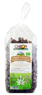 CHIRON Naturdelikatessen Bio Hanf-Emmer Vollkornnudel kbA 250 g Beutel