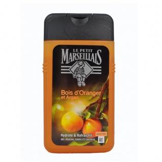 Le Petit Marseillais Dusch-Shampoo mit Orangenholz und Argan 250 ml aus Frankreich