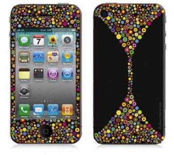 """BODINO Designer Super Skin für iPhone 4 / 4S by David Siml """" BUBBLE PARADISE"""""""