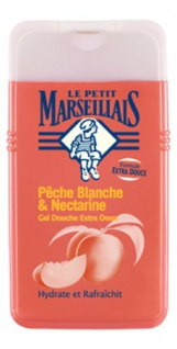 Le Petit Marseillais Duschgel mit Pfirsich und Nektarine 250 ml aus Frankreich