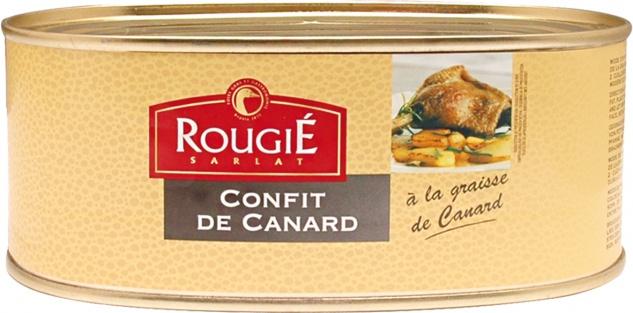 Rougié Eingemachtes Entenfleisch 575 g