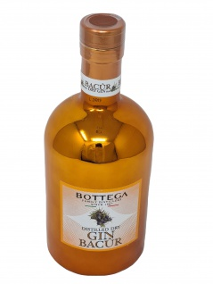 Bottega Bacur Dry Gin 0, 5 Liter 40 % Vol.
