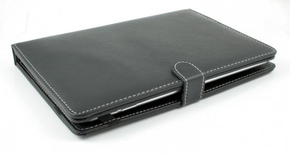 """Tablet PC Tasche aus Kunstleder USB Tastatur für 10"""" Android + Windows QWERTZ - Vorschau 3"""