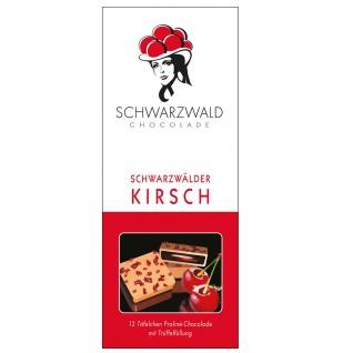 FeineHeimat Schwarzwald Chocolade Schwarzwälder Kirsch 100 Gramm Original aus dem Schwarzwald