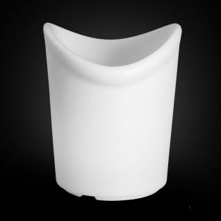 Luminatos 16 LED Eiskühler mit Farbwechsel Fernbedienung Akku Betrieb Eiseimer - Vorschau 2