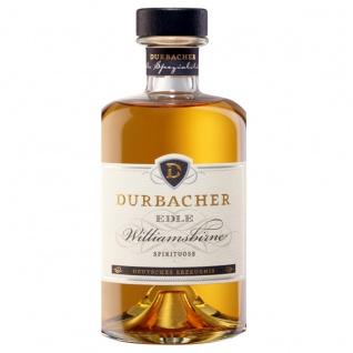 Durbacher Edle Williamsbirne mit Fruchtauszug Birnen Brand Edler Obstbrand 40% Vol. 0, 5 L