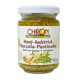CHIRON Naturdelikatessen Bio Hanf-Aufstrich Rucola-Pastinake kbA 135 g