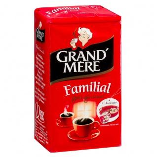 Kaffee Grand' Mère Familial, gemahlener Kaffee aus Frankreich, 250g