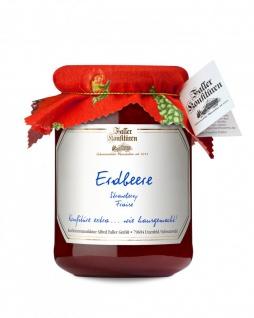 Marmelade aus dem Schwarzwald Faller Erdbeer-Konfitüre extra 450 Gramm