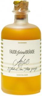 Faude Feine Brände Apfelbrand 3 Jahre Holzfass (1 x 0, 5l)