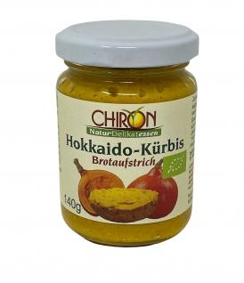 CHIRON Naturdelikatessen Bio Hokkaido-Kürbis Brotaufstrich kbA 140 g