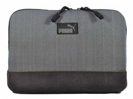 "Puma Engineer 11"" Laptop Sleeve dunkelgrau/schwarz"