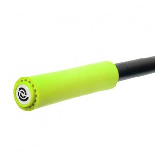 BikeRibbon Silicongriffe Fahrradgriffe, Griffe, lenkergriffe SI02 Extralite, grün
