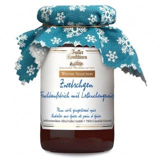 Marmelade aus dem Schwarzwald Faller Zwetschgen-Fruchtaufstrich mit Lebkuchengewürz 235g