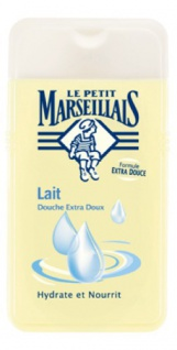 Le Petit Marseillais Duschgel mit Milch 250 ml aus Frankreich