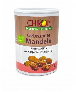 CHIRON Naturdelikatessen Bio Gebrannte Mandeln kbA 150 g im Kupferkessel gebrannt