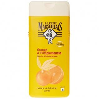 Le Petit Marseillais Duschgel und Badezusatz mit Orangen und Grapefruit 650ml