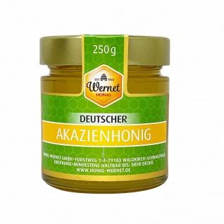 Honig Wernet Traditionsimker im Schwarzwald Deutscher Akazienhonig im 250g Glas