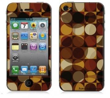 """BODINO Designer Super Skin für iPhone 4 / 4S by Mandy Reinmuth """" FEEL RETRO!"""""""