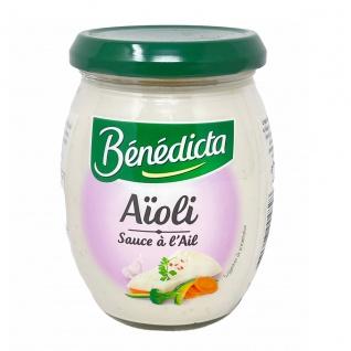 Bénédicta Aïoli Sauce à l'Ail Knoblauchmayonnaise 260g
