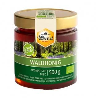 Honig Wernet Traditionsimker im Schwarzwald BIO Waldhonig im 500g Glas