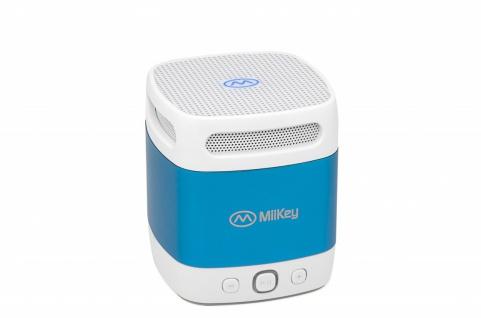 MiiKey Bluetooth-Lautsprecher MiiBox Mini Blau