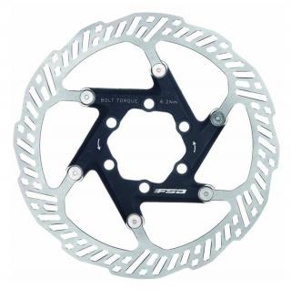 FSA MTB Bremsscheibe - DB011 o Ø 160mm o 2 teilig. 6 Loch