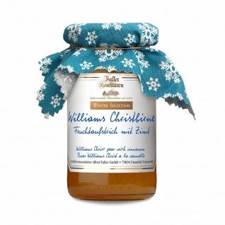 Marmelade aus dem Schwarzwald Faller Williams Christbirnen Fruchtaufstrich mit Zimt